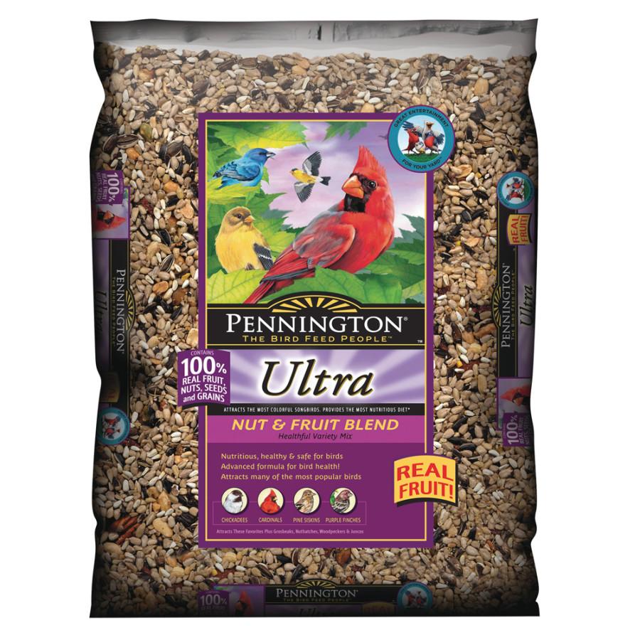 Pennington Ultra Nut & Fruit Blend Bird Food 14ea/2.5 lb