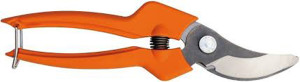 Bahco Bypass Hand Pruner Narrow Cutting Head with Steel Blade 6ea