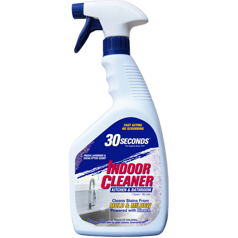30 Seconds Indoor Cleaner Kitchen & Bathroom Ready To Use 6ea/32 oz